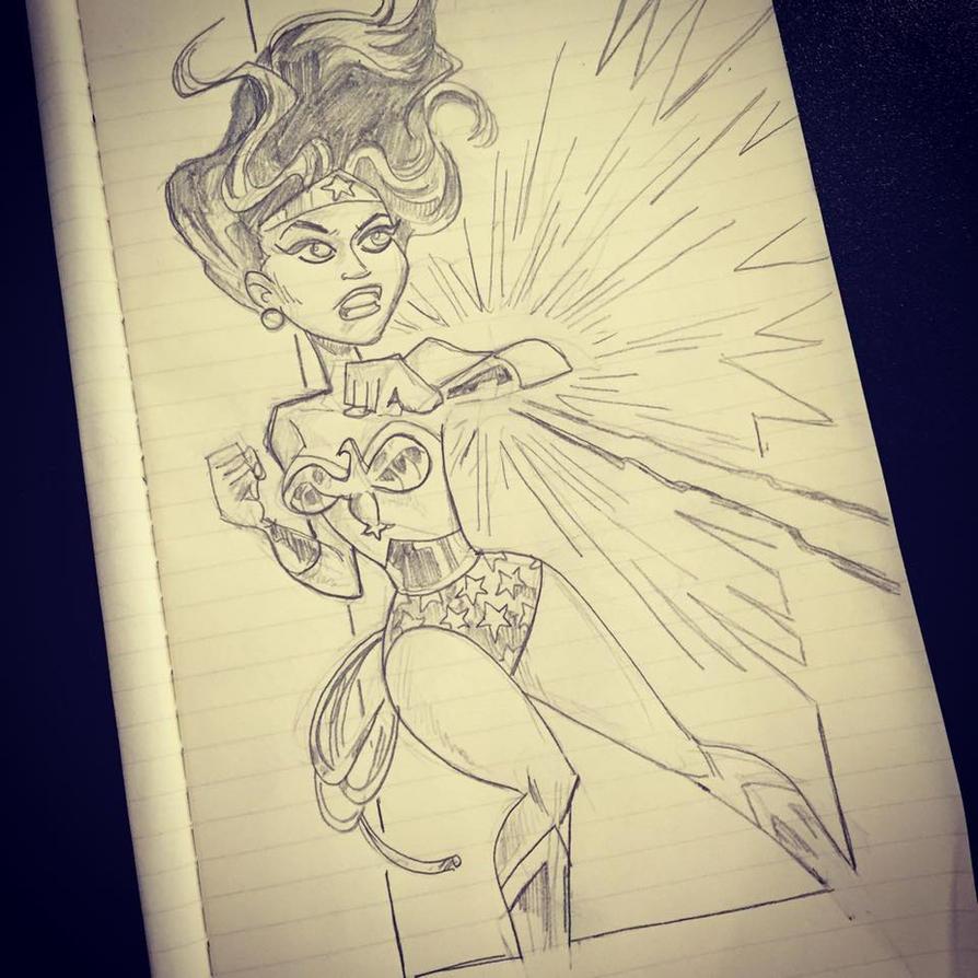 Wonder Woman Monday by BillWalko