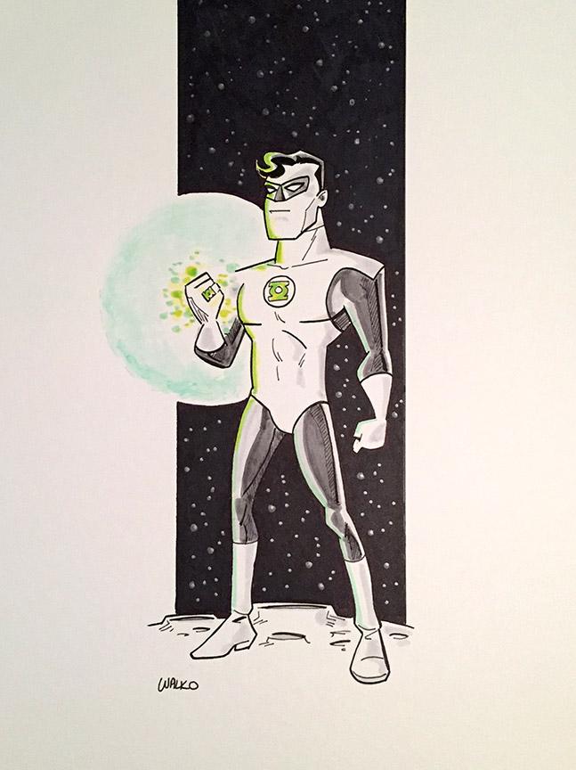 Green Lantern NYCC 2016 by BillWalko