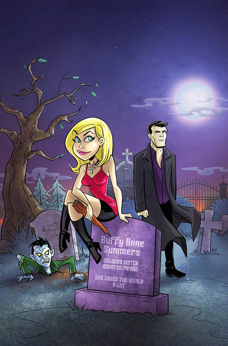 Buffy and Angel - Conversations With Dead People by BillWalko