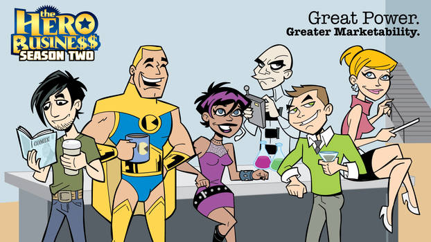 Hero Business: Season Two on Kickstarter