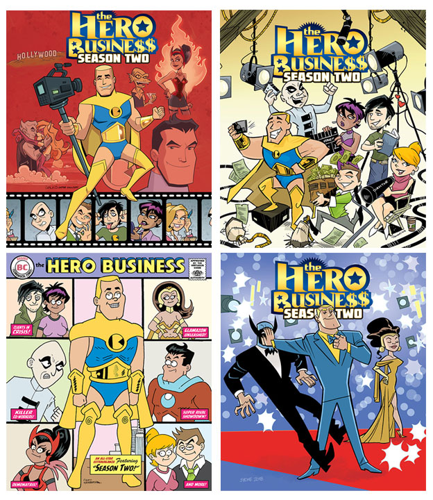 Variants For The Hero Business Season Two! by BillWalko
