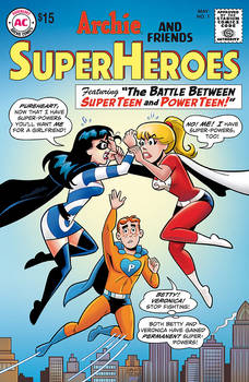 My Archie Superhero Variant is HERE!
