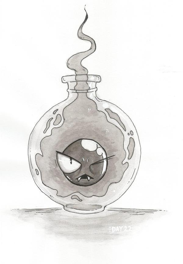 Day 22 - Phantom elixir by YonoHana