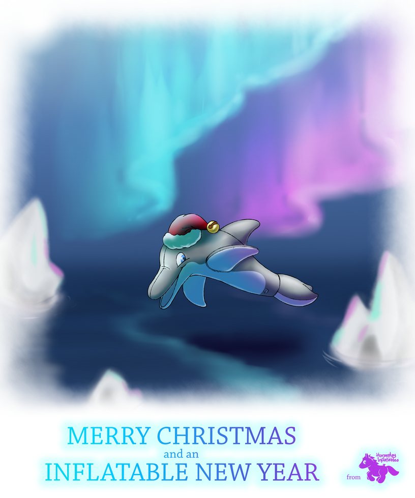 Merry Christmas and an Inflatable New Year! by HorseplayInflatables