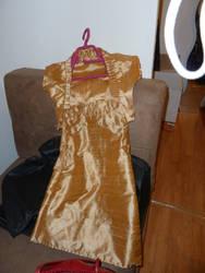 first coktail dress skil - premeire robe en soie