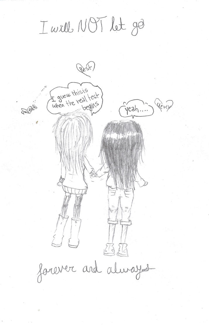 Best Friends pencil drawing by Ordinary-Chan on DeviantArt