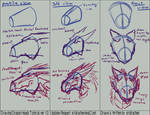 Drawing Dragon Heads ver 1.0