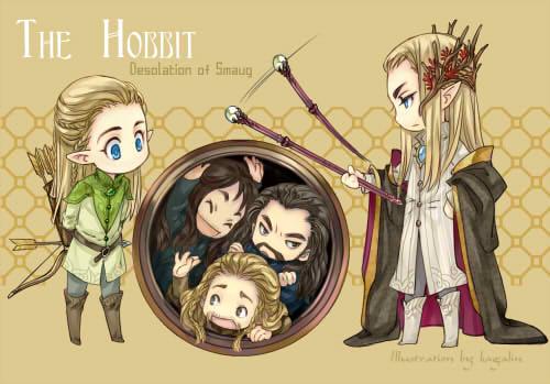 The Hobbit by kagalin