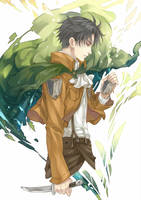 Levi / Rivaille by kagalin