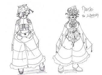 steampunk design marie