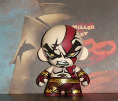 Munny - God of war by LeftHandedMutant