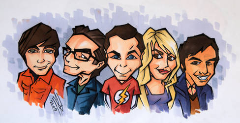 The Big Bang Theory by LeftHandedMutant