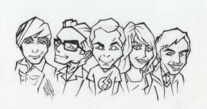 The Big Bang Theory - Ink