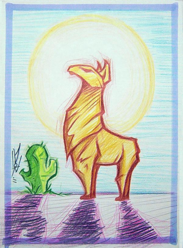 Llama by LeftHandedMutant