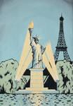 Statue of Liberty - Paris, France