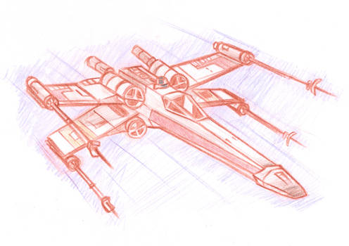 X-Wing sketch