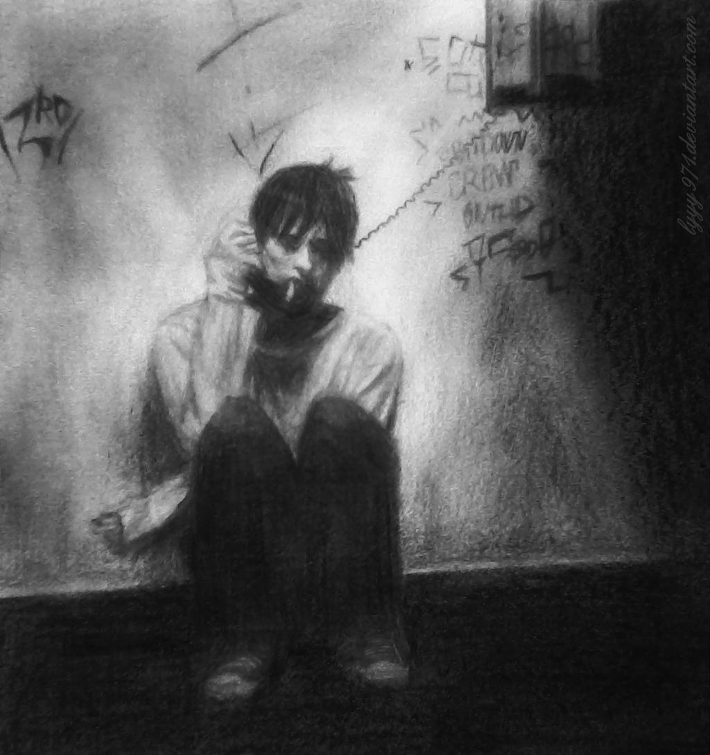 Requiem For A Dream Art Jared Leto drawing - R...