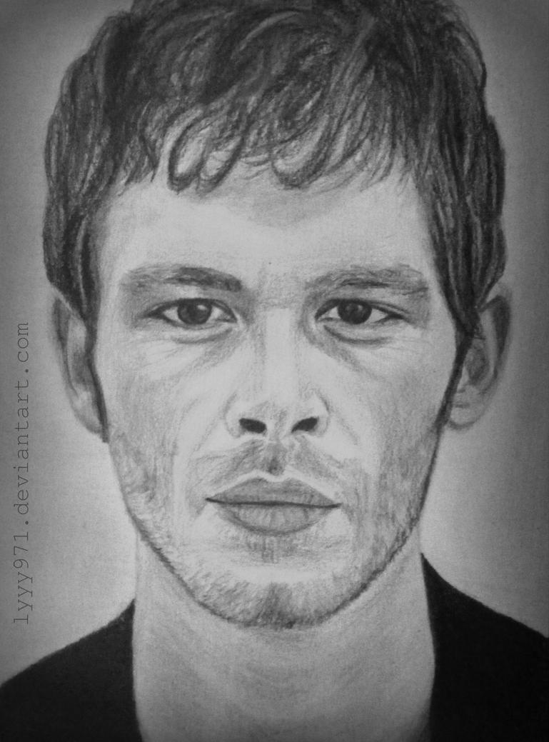 Jospeh Morgan (Klaus) drawing by lyyy971