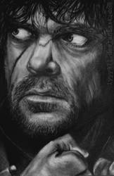 Tyrion Lannister drawing - Game of thrones by lyyy971