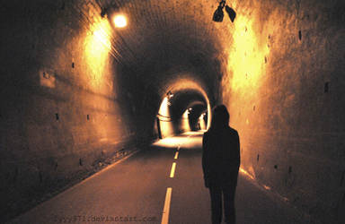 At the end of the tunnel by lyyy971