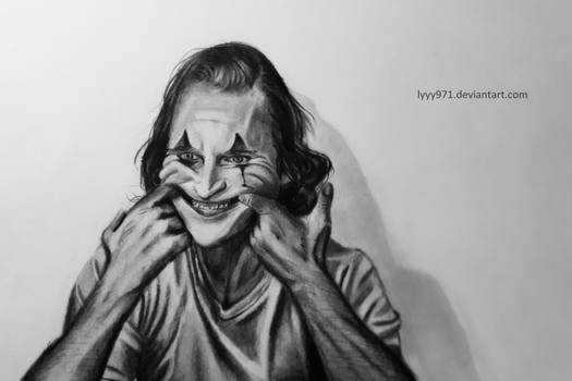 The joker - Drawing
