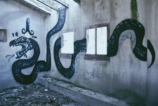 Snake - Street art