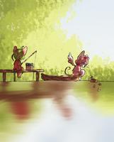 fishing by martha-chan