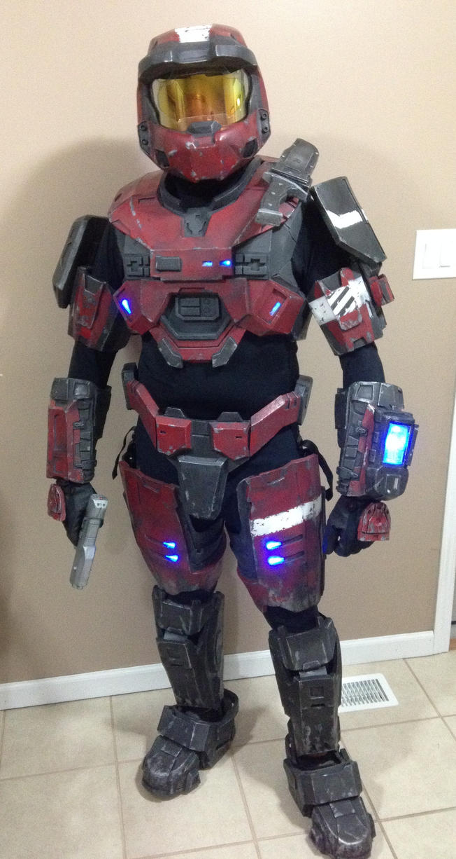 Halo Reach Armor by RoninLeeArt on DeviantArt