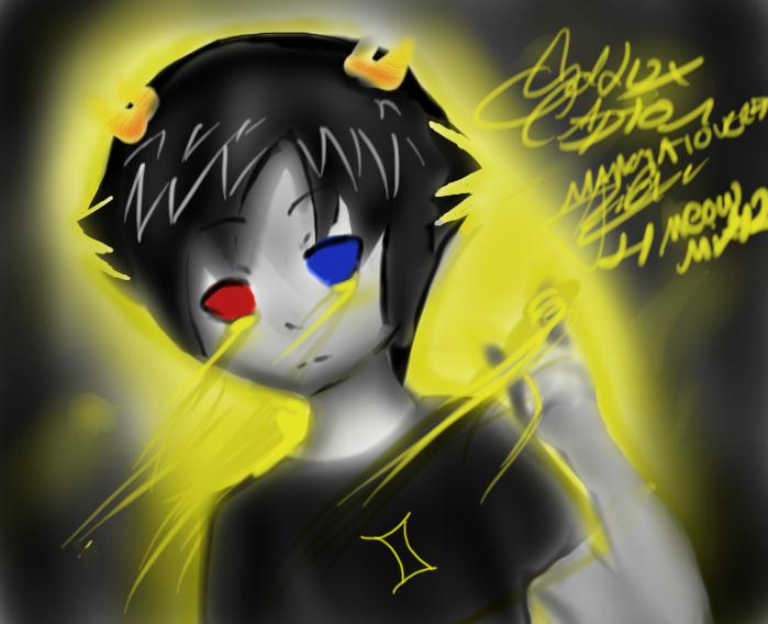 Sollux captor for meowmix42 by mangalover77