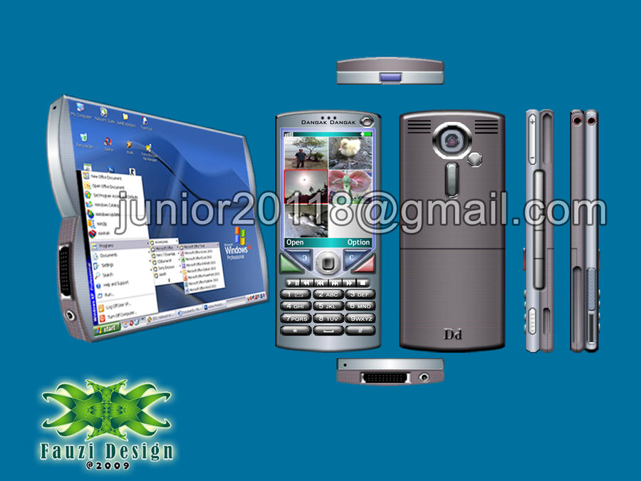 Handphone concept by junior20118