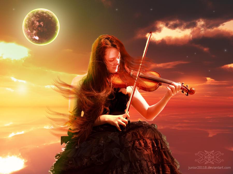 Violin Girl by junior20118 on DeviantArt