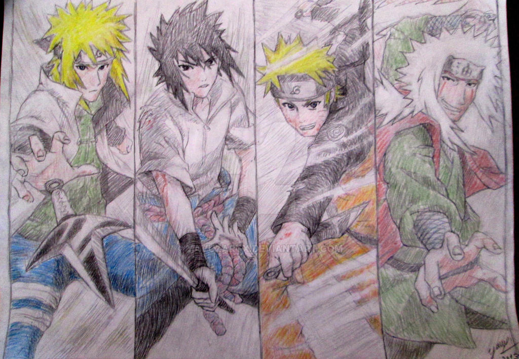 Tribute to Naruto - For my cousin / 2013 by Yavuzartx