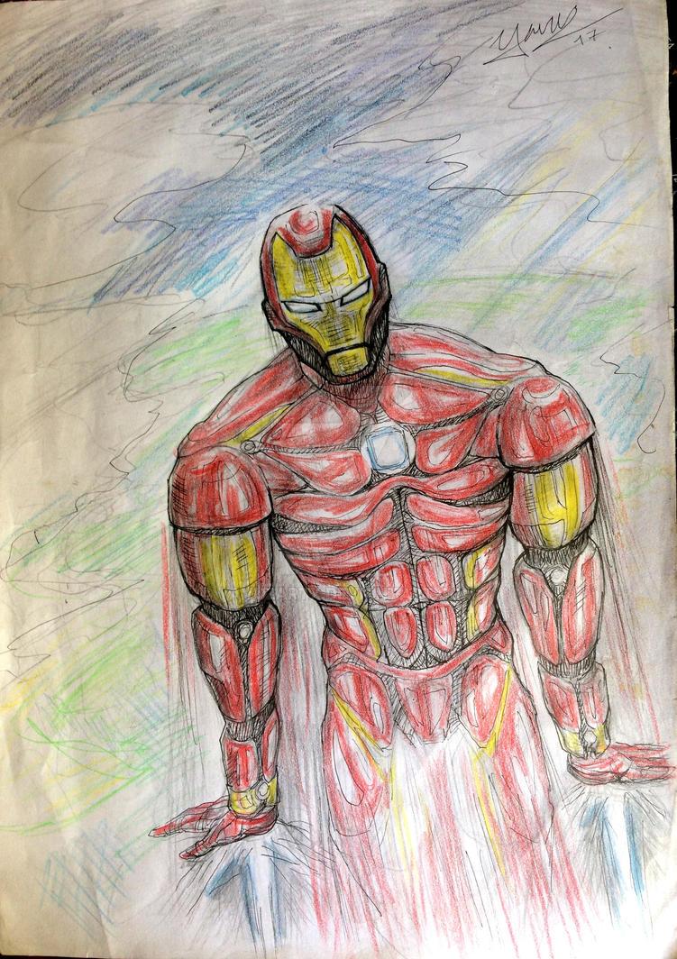 Ironman by Yavuzartx