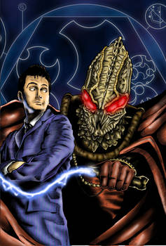 Doctor Who - Comic Style Test