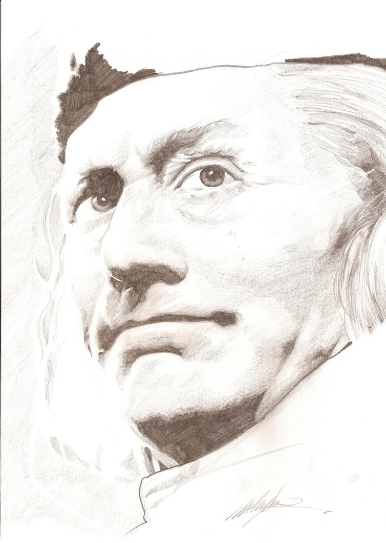 William Hartnell - Pencil by westleyjsmith