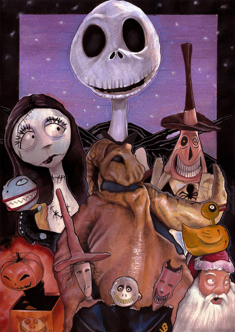 The Nightmare Before Christmas by westleyjsmith