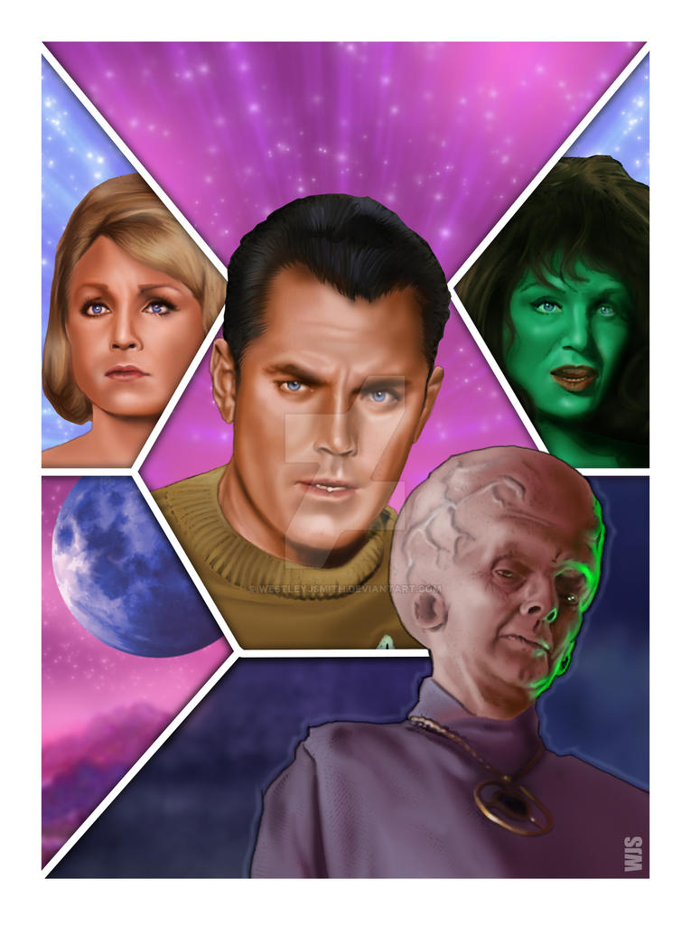 Star Trek - The Cage by westleyjsmith