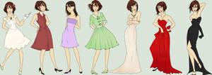 Elsa Dress List