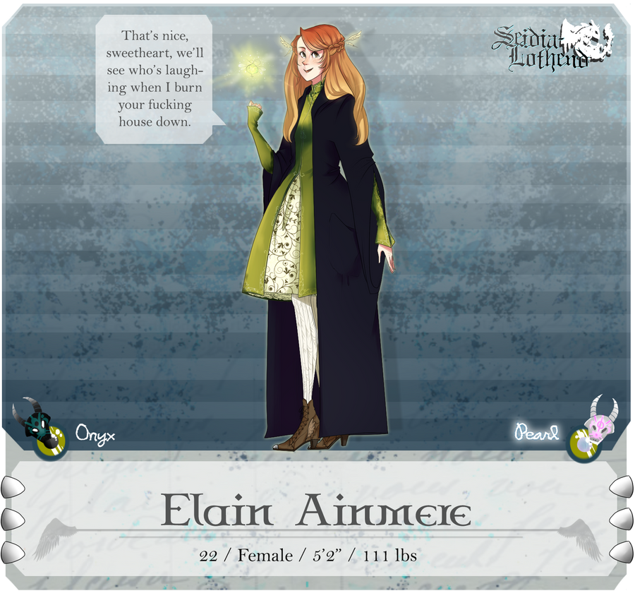 SL: Elain by kimitama