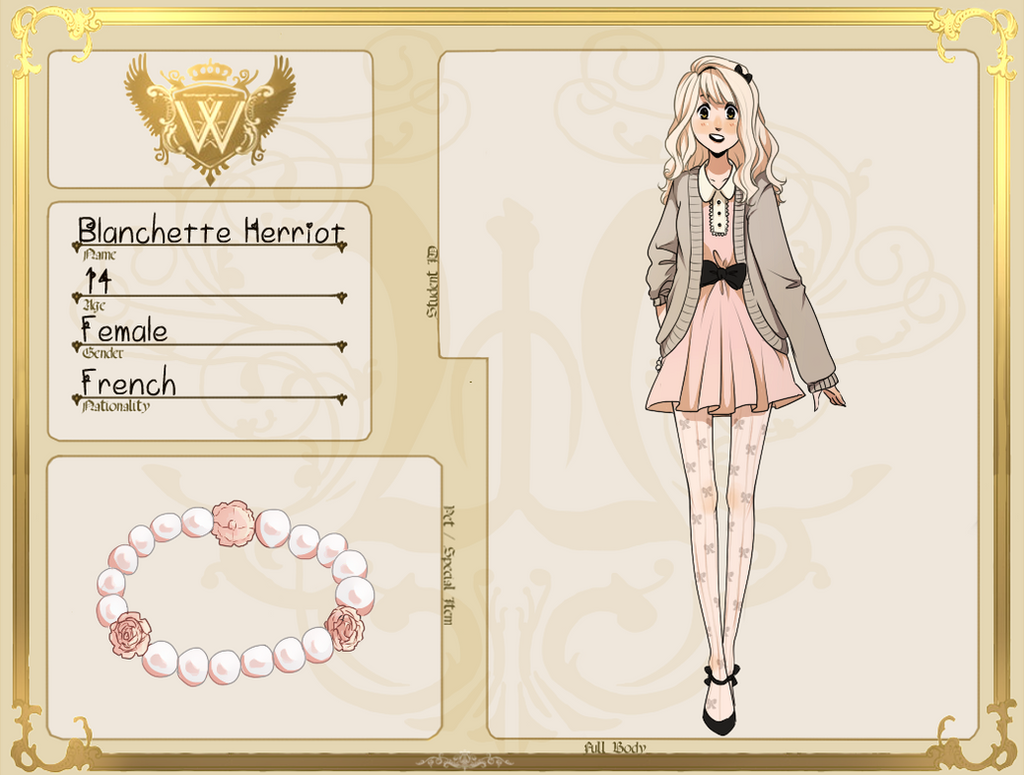 GH: Blanchette Herriot by kimitama