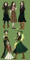 Ceridwen Clothes