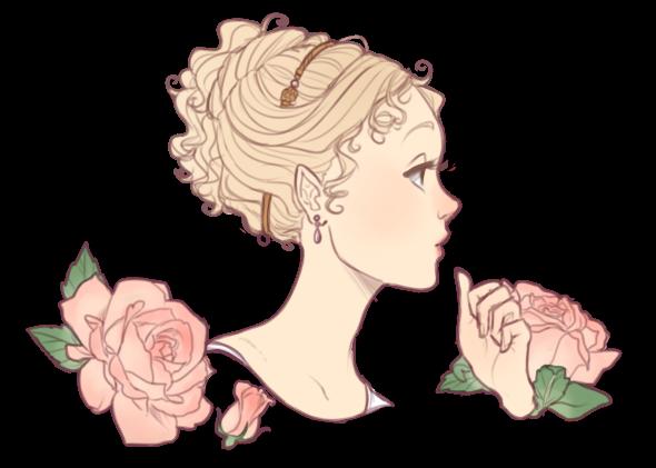 Blanchette Portrait in Profile by kimitama