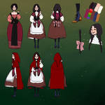 Red Riding Hood character sheet