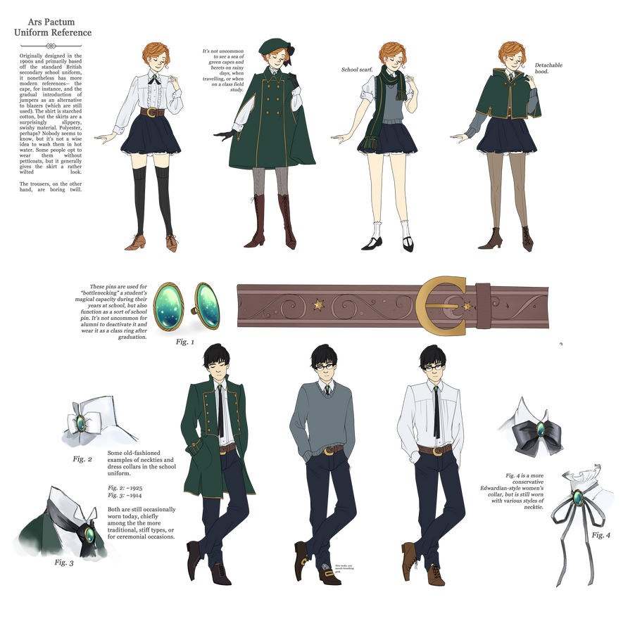 ARS PACTUM: Uniform by kimitama