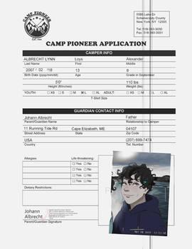 CAMP PIONEER: Loys Albrecht Lynn