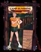 CAMP-SUNSHINE: Colin