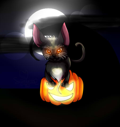 Halloween Eyes by Fire-Blast-Scotland