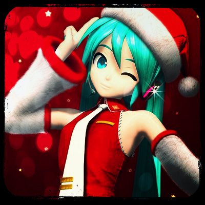 Hatsune Miku Christmas Avatar by XXSefa on DeviantArt