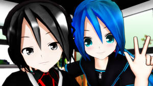 MMD :Youtube 300+Subscribers Special