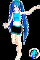 Lat off  Style Miku + DL by XXSefa